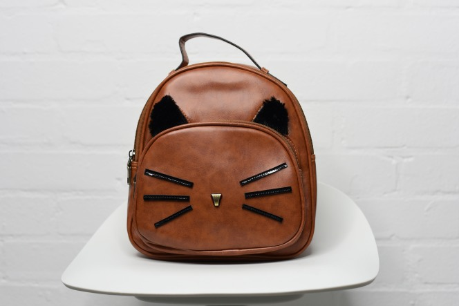 NoFauxVegan Vegan Accessory Cat Bag