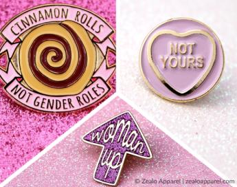 feminist etsy guide zealo apparel feminist pins