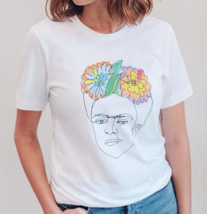 Frida Khalo feminist tee joseph and sue.png