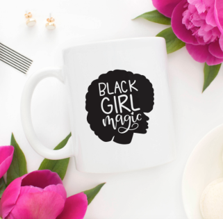 black-girl-magic-mug-lavraxlondon-feminist-etsy-guide
