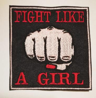 fight like a girl patch la cienaga lavraxlondon feminist etsy gift guide